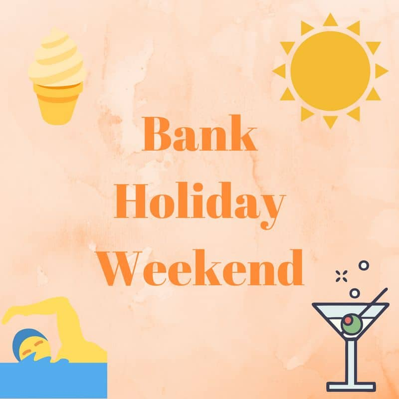 bank holiday weekend ideas from Crowdology